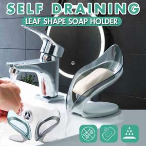 Self Draining Leaf Shape Soap Holder