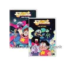 Steven Universe: TV Series Complete Gem Glow & The Return Vol 1&2 Box/DVD Set(s)