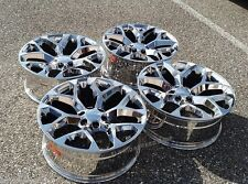 "Chrome GMC Sierra/Chevy Truck Wheels 22x9"" Wheel set 1999-2015 CHEVY SILVERADO"