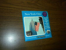 NEW YORK CITY (A653) Viewmaster 3 reels PACKET SET sealed