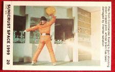 SPACE 1999 - SHOOTING CRAZED PILOT - EX SUNICRUST Card #20 Australia 1975