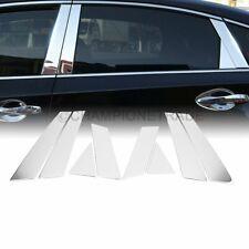 For Nissan Altima SL SV 4DR//Sedan Polish Mirror Chrome Door Pillar Trim Cover 8P