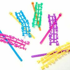 48 pc A - Z Alphabet Beads Create your own Message DIY Bracelet Party Supply Lot