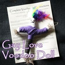 Gay Love Voodoo Doll Men Women Transgender Queer Lesbian Lover Ritual Poppet