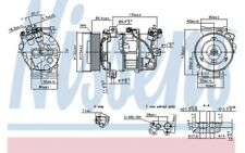 NISSENS Compresor aire acondicionado 890126