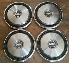 "Set of 4 OEM 1973-74 Chevy Camaro Chevelle Malibu Nova 14"" Hubcaps Wheel Covers"
