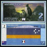 Antarctica, $2, 11-28-1999, UNC Tragedy of 901, Penguins