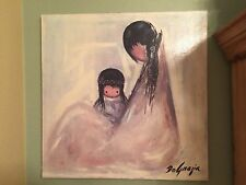 """Degrazia  '' Navajo Mother """" Canvas Transfer/ Oil Reproduction Painting   24x24"""