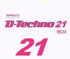 D.TECHNO 21/GARY D. 3 CD NEU