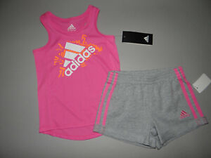 NWT, Toddler girl clothes, 3T, Adidas sports wear set