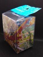 Pokemon center JAPAN - Ultra Necrozma vs Charizard Card Deck case Box
