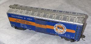 Metal HO Varney 467111 B&O Baltimore Ohio Time-Saver Box Car Vintage!