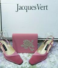 Jacques Vert  Mother of the Bride, Wedding,Christening races Uk4 Shoes hat &bag