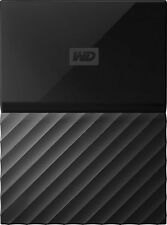 NEW Western Digital 2 TB My Passport Ultra Portable External Hard Drive- Black