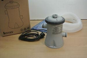 Intex 28602 Pompa Filtro Depuratore a Cartuccia 1.250 l/h