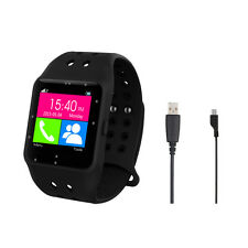 "Smartwatch Prixton Sw11 negro Táctil 1.54""led Android/ios Bluetooth"