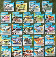Various Hot Wheels - new on sealed short cards - Multi Listing - Choose your Own