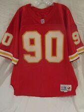 Neil Smith Kansas City Chiefs Game Used Home Jersey (1995) - Mears LOA