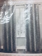 "Exclusive Home Kilberry Blackout Grommet Curtains Pair 52""X 84"" Light Gray, NEW!"