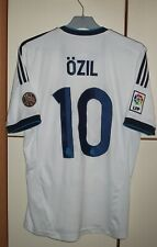 Real Madrid 2012 - 2013 Home football shirt jersey Adidas size M #10 Ozil