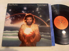 Kenny Loggins Keep The Fire LP Columbia + Lyric Inner EX!!!!