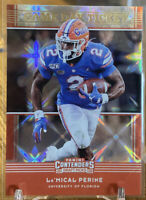 2020 Panini Contenders Draft La'Mical Perine RC Game Day Ticket Refractor SP