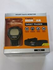 New Timex Ironman Target Trainer Elite Tap Screen Heart Rate Monitor Memory
