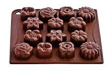 Pavonidea Choco14s Stampo in Silicone per Cioccolatini/ghiacciolini Marrone ...