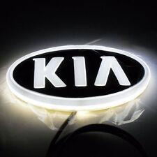 4D Car LED Logo Cold Light Auto Badge Rear Emblems Lamp For KIA K5 KIA SORENTO