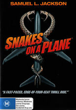 Snakes On A Plane Samuel L. Jackson Dvd R4 New - Pal