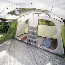 Skandika Saturn 6 person Family Tent Tunnel Mosquito Netting Canopy green NEW