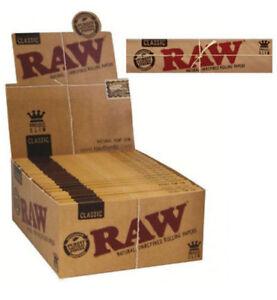 Raw kingsize slim classic 50 booklets