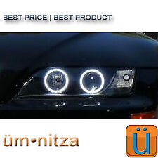 96-02 BMW Z3 PROJECTOR CLEAR HEADLIGHT BIXENON HID Orion LED ANGEL EYES HALO FXR