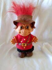 "Russ Vintage Canadian Royal Mountie Troll 5"""