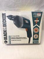 "Vintage Black & Decker Drill TS310 3/8"" Vsr Drill New"