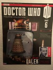BBC SERIES DOCTOR WHO DR ISSUE 6 THE LAST DALEK EAGLEMOSS FIGURINE + MAGAZINE