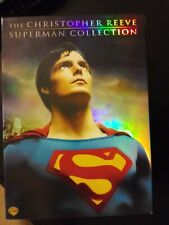 The Christopher Reeve Superman Collection DVD, 2006, 8-Disc Boxed Set