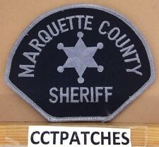 MARQUETTE, MICHIGAN SHERIFF SUBDUED (POLICE) SHOULDER PATCH MI