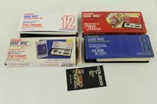 Vintage Electronics TOY COLECO QUIZ WIZ Trivia Game & Cartridges Ocean Math
