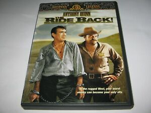 THE RIDE BACK (1957) ANTHONY QUINN WILLIAM CONRAD - RARE R1 IMPORT DVD  Western