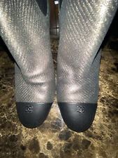 100% Authentic Limited Chanel Boots Size 39