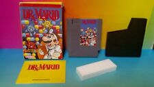 Dr. Mario, Box, Manual, Complete Nintendo NES Game Rare Tested Works Authentic
