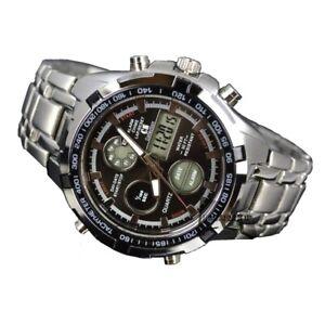 Orologio da polso cs uomo digitale analogico nautica-mare acciaio watch mshop