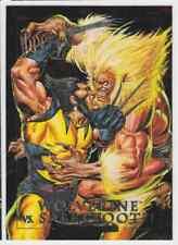 1992 SKYBOX MARVEL MASTERPIECES SPECTRA WOLVERINE VS. SABRETOOTH #3-D INSERT