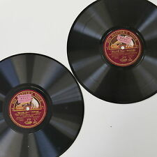 78rpm WILLIAM TELL OVERTURE malcolm sargent l covent garden opera , 2 disc set