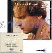 "MIGUEL BOSE ""DIRECTO"" RARE CD FRANCE incl_MADRID MADRID"