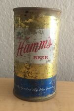 Vintage Hamm's Beer Can Flat Top Breweriana Empty 12 oz