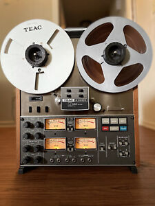 TEAC A-3340S Reel To Reel w/ AX-10 + AX-20 + Unused Scotch Rec. Tape And More!