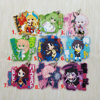 T1309 Anime Fate//stay night rubber Keychain Key Ring Rare Straps cosplay