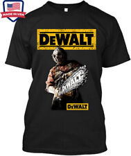 New Nwt Dewalt Tool Chainsaw Power Tools Professional Construction T-Shirt L-Xl